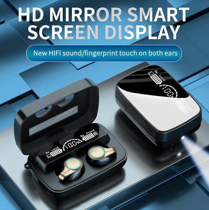 Bluetooth TWS Cuffie Touch Control Oordopjes voor €1,34