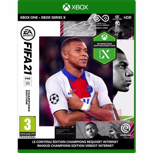 FIFA 21 – Champions Edition – Xbox One & Xbox Series X voor €29,99