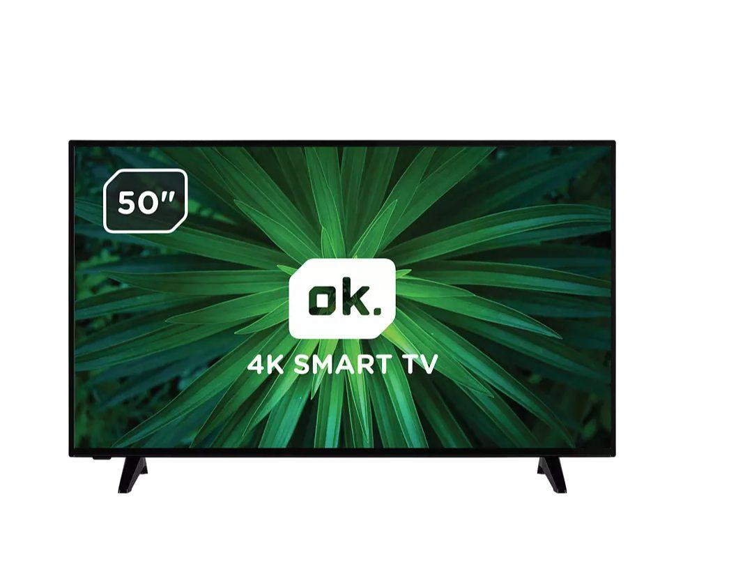 OK. ODL50740U-DIB 4K HDR Smart TV voor €277