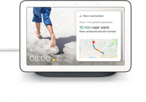 Google Nest Hub – Slimme speaker met scherm voor €65,99