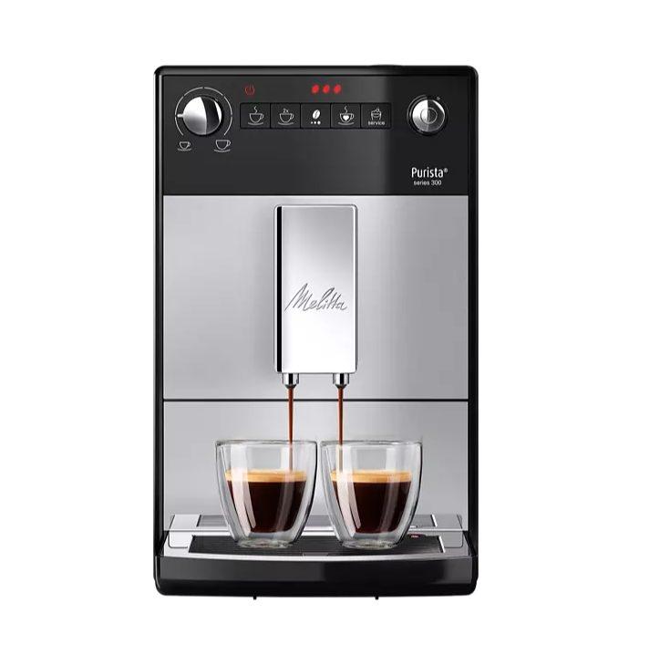 Melitta Purista – Espressomachine – Zilver voor €319 na cashback
