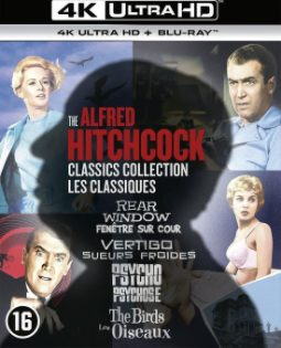 The Alfred Hitchcock Classics Collection – 4K Ultra HD Blu-ray voor €35