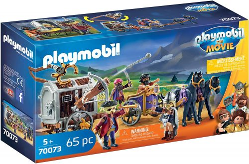 Playmobil: The Movie: Charlie with Prison Wagon 70073 voor €9,70