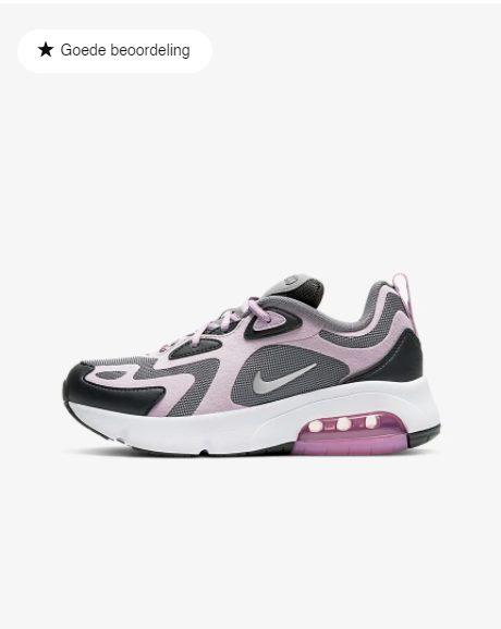 Nike Air Max 200 kids lila voor €45,02 door kortingscode