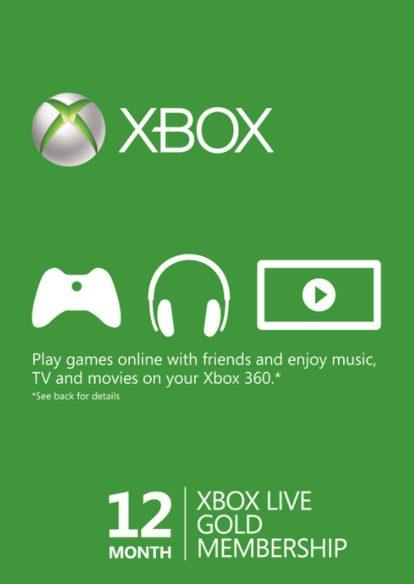 Xbox Live Gold Membership 12 maanden voor €39,49