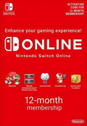 1 jaar Nintendo Switch Online voor €14,78 door kortingscode