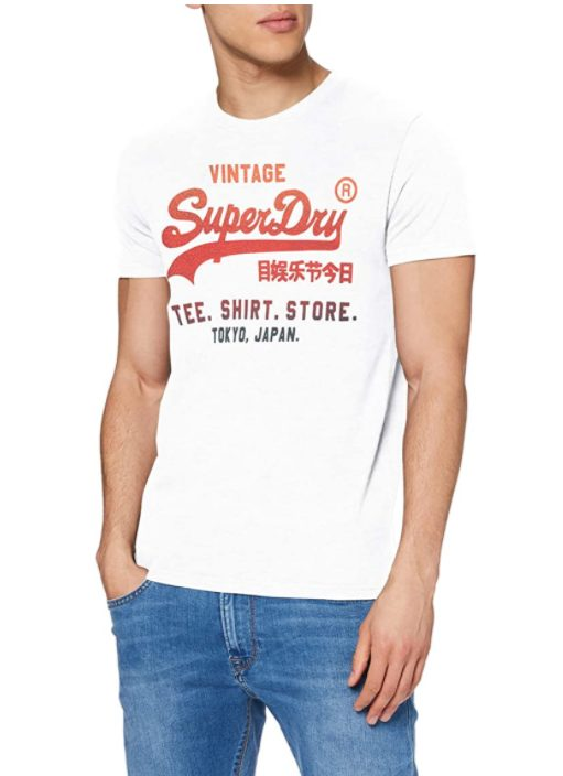 SUPERDRY Vintage Logo Infill Store T-Shirt voor €15,24