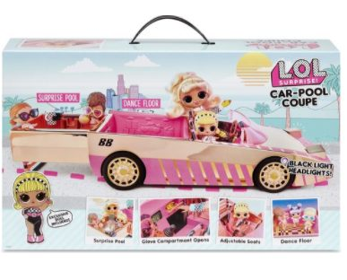 LOL Surprise Car with Tot Doll voor €23,99