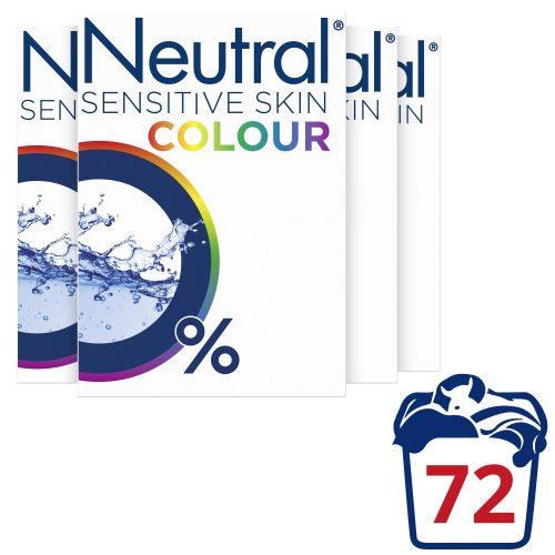 Neutral Parfumvrije waspoeder – 4 stuks – 72 wasbeurten voor €19,57.