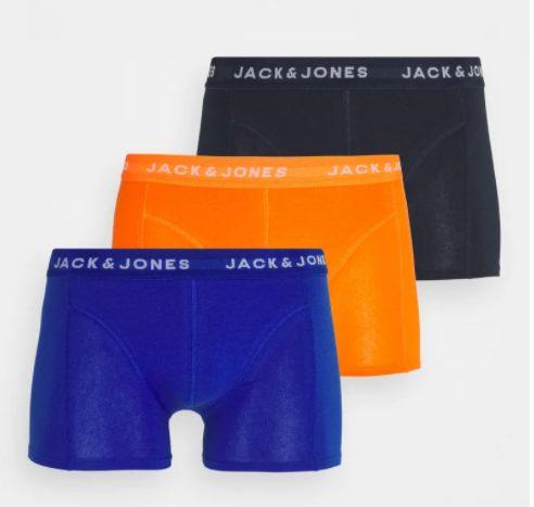 Jack & Jones JACKRIS TRUNKS 3 PACK – Onderbroeken voor €9,69