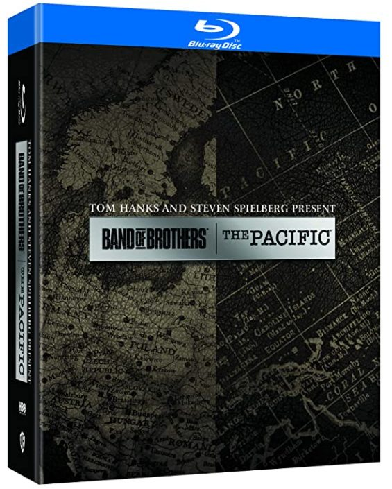Band of Brothers & The Pacific Blu-ray Boxset voor €22,99 bij Amazon.nl