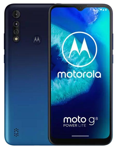 Motorola Moto G8 Power Lite – Blauw voor €99