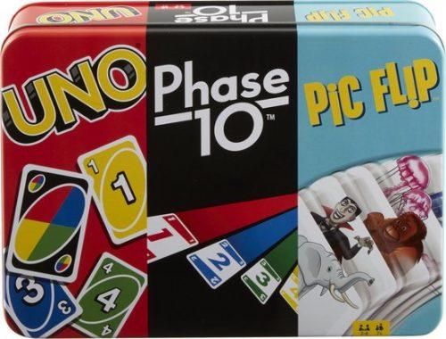 Uno Bundle Collector Bewaarblik + Kaartspel voor €17,89
