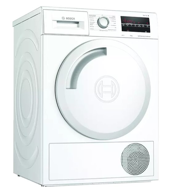 BOSCH WTW84470NL – Wasdroger 8KG A+++ voor €599
