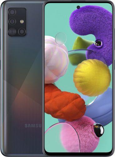 Samsung Galaxy A51 – 128GB – Zwart voor €218 na cashback
