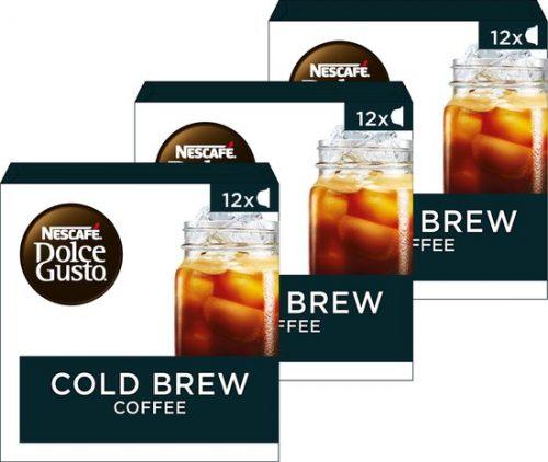 36x Nescafé Dolce Gusto capsules Cold brew – ijskoffie voor €8,49