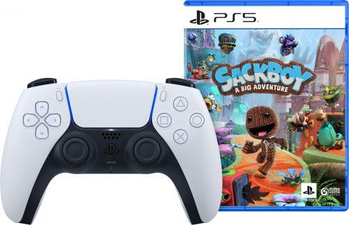 DualSense Controller + Sackboy: A Big Adventure voor €94