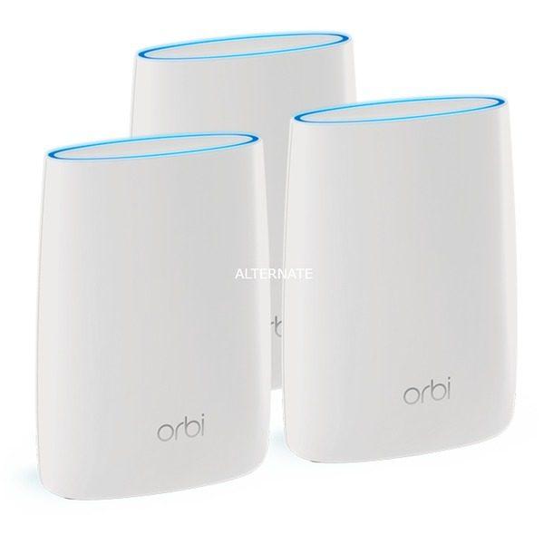 3x Netgear Orbi RBK53 – Mesh Wifi voor €299