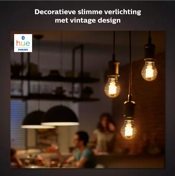 25% Korting op Philips Hue Filament lampen