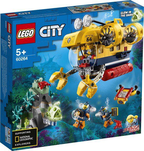 Lego 60264 Oceaan Verkenningsduikboot voor €17,99