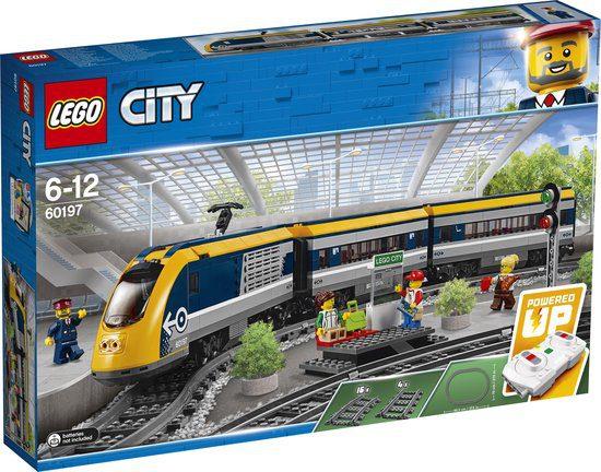 LEGO City Treinen Passagierstrein voor €80,69