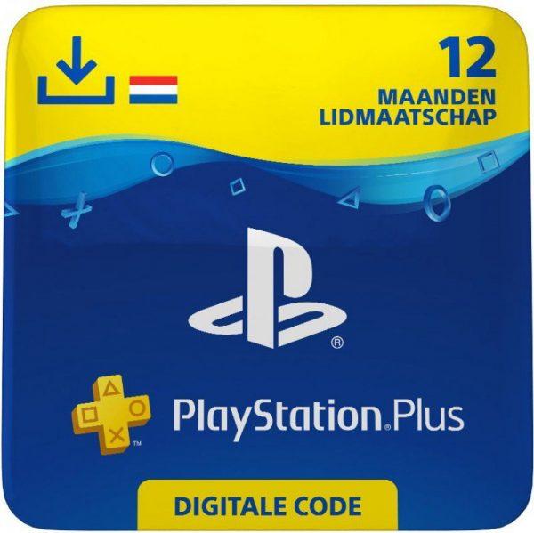 PlayStation Plus Card 12 maanden voor €44,99 door kortingscode