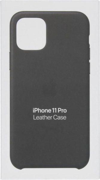 Apple Leren Hoesje voor iPhone 11 Pro – Zwart voor €22,21