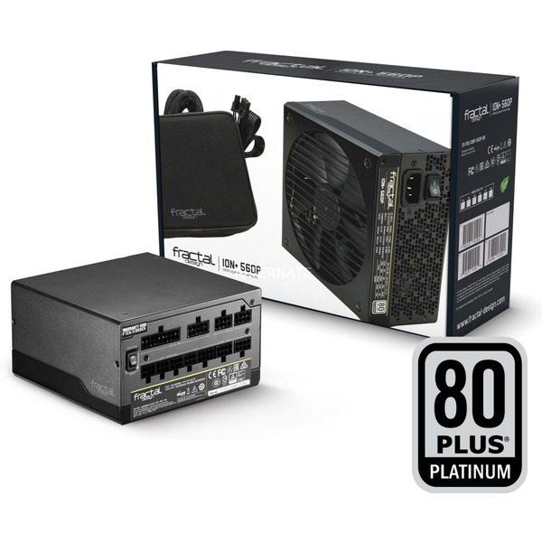 Fractal Design ION+ 560W Platinum PSU / voeding voor €79,90