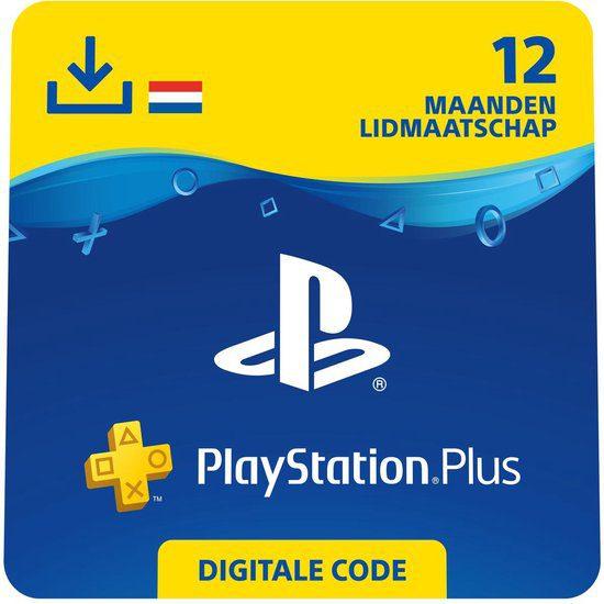 PlayStation Plus 12 maanden voor €43,99