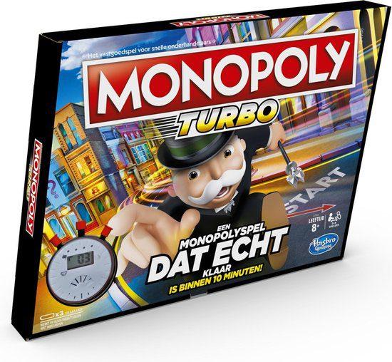 Monopoly Turbo – Bordspel voor €11,01