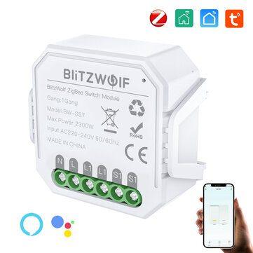 BlitzWolf® BW-SS7 Slimme licht Switch voor €11,57 door kortingscode
