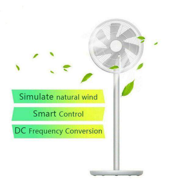 Xiaomi Mi Smart Standing Fan 2S – Ventilator voor €81,99 door kortingscode