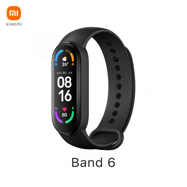 Xiaomi Mi Band 6 Fitness tracker voor €34,99 door kortingscode