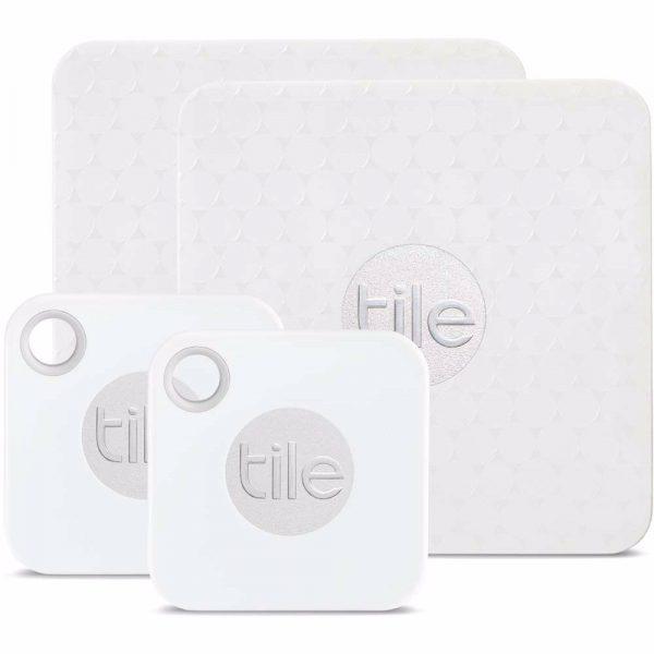 Tile Mate+ & Slim II bluetooth tracker (4 pack) voor €29