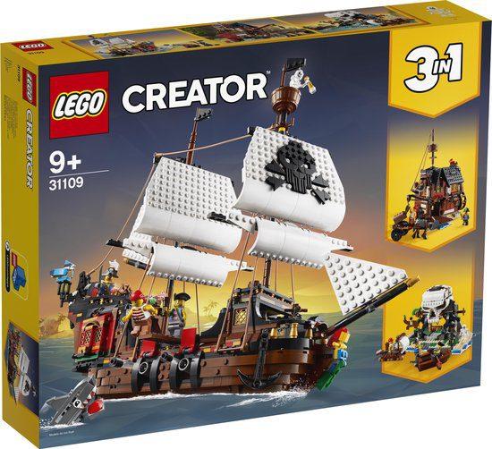 LEGO Piratenschip 31109 voor €52,49