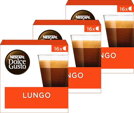 48x Nescafé Dolce Gusto capsules Lungo voor €8,54