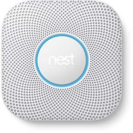 Google Nest Protect 2e Gen. rook- en koolmonoxidemelder (batterijvoeding) voor €98,34