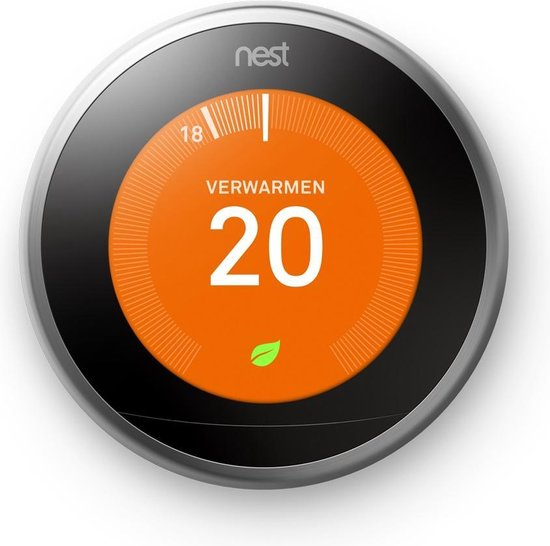 Google Nest Learning Thermostaat – Slimme thermostaat voor €187,59