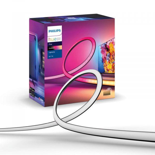 Philips Hue Play Gradient Lightstrip – 55″ voor €132,18