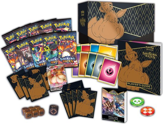 Pokémon Shining Fates Elite Trainer Box voor €47,49