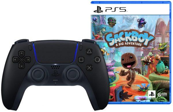 PS5 DualSense Draadloze Controller + Sackboy A Big Adventure voor €99,99