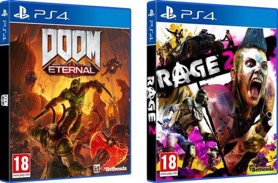Doom Eternal Rage 2 Double Pack PS4/Xbox One voor €24,99