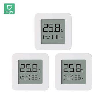 3x Xiaomi Mija Slimme Thermometer voor €11,43 door kortingscode