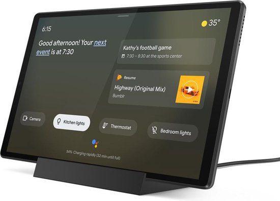 Lenovo Tab M10+ Smart Docking Station Bundel voor €139