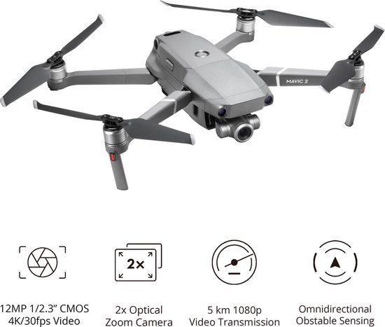 DJI Mavic 2 Zoom – Drone met 4K Camera voor €775