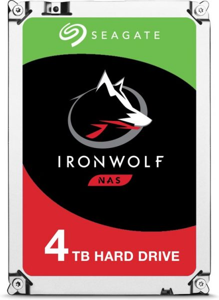 Seagate IronWolf 4 TB NAS HDD voor €105