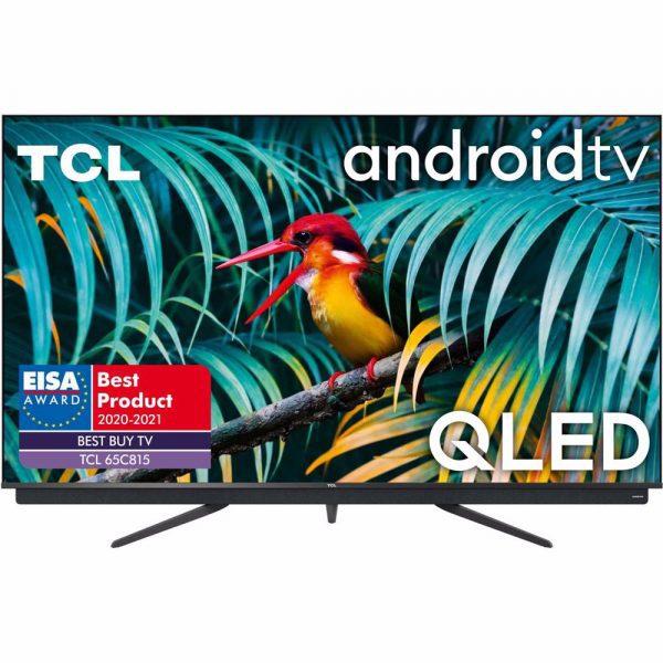TCL 65C815 65″ QLED 4K Android TV voor €899 na cashback