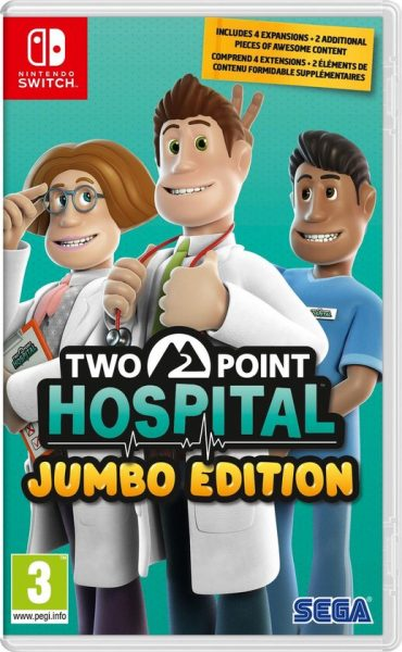 Two Point Hospital Jumbo Edition voor €24,99