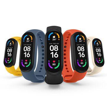 Xiaomi Mi Band 6 Fitness Tracker voor €32,29 door kortingscode