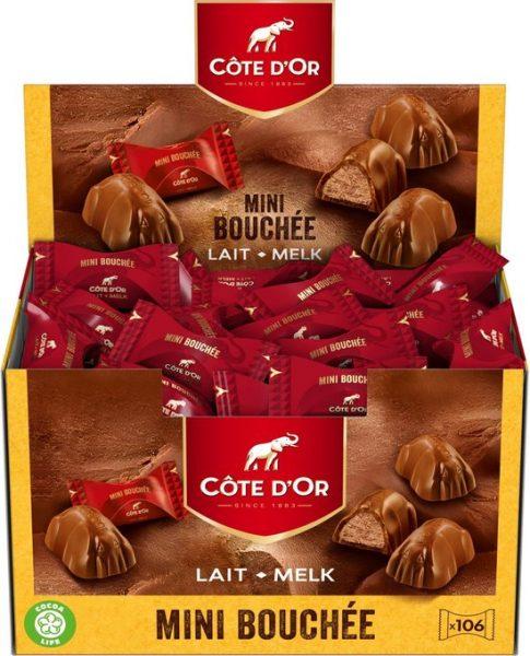 Côte d'Or Mini Bouchée Melkchocolade 1kg voor €15,30